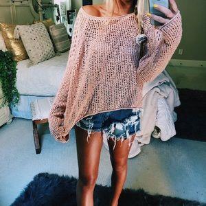 billabong beachy knit